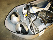 Motorcycle in Pod